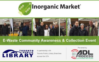 Raising awareness around e-waste at Toronto Public Library