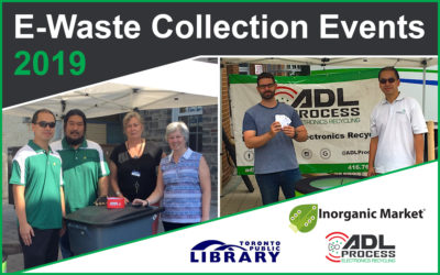 E-Waste Collection Events Summer 2019