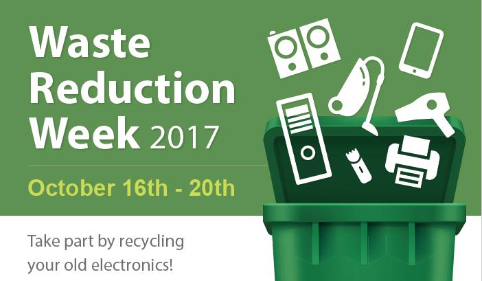 Waste Reduction Week, October 16-22 2017